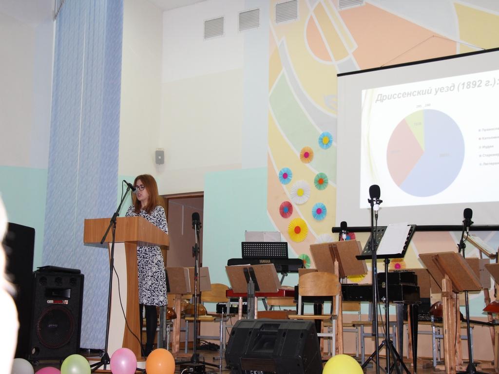 В Верхнедвинске прошла конференция к 1025-летию Полоцкой епархии. г. Верхнедвинск, 2017 г.